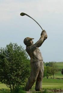 Golfstatur