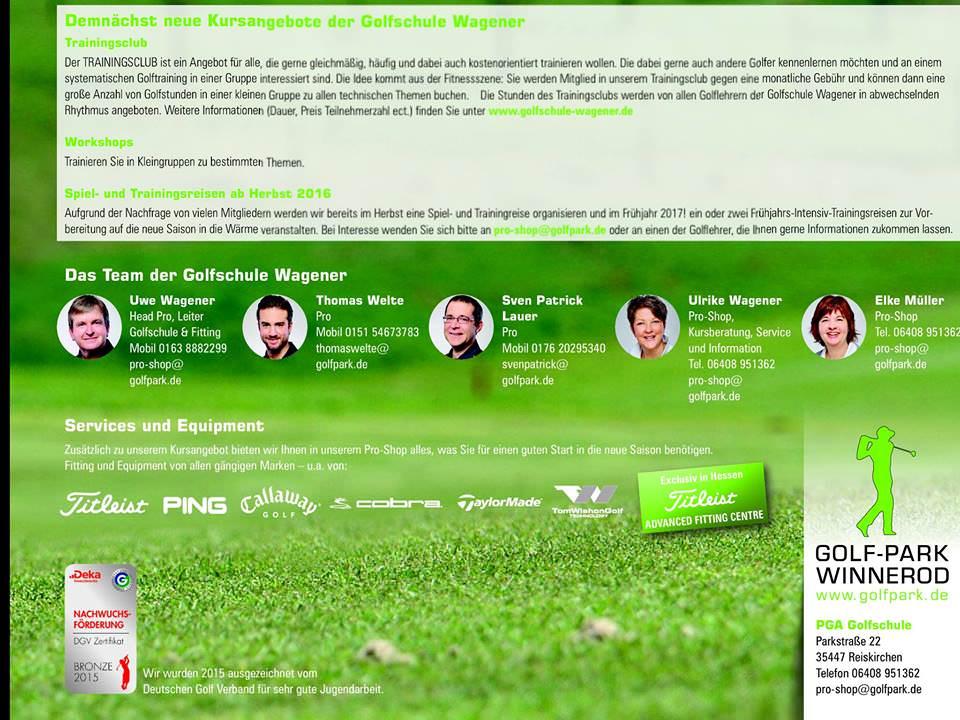 Golfkurs 1