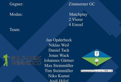 Aufstiegsspiel der Clubmannschaft am 17. Oktober 2020