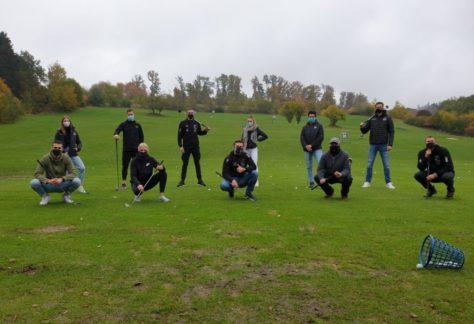 Prominente Besucher im Golf-Park Winnerod