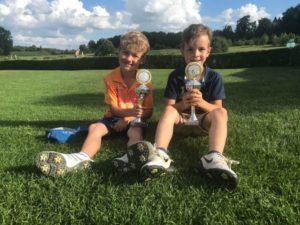 Kinder Golf Team des Golf-Park Winnerod in Hessen Turnier Wettkampf Golfturnier