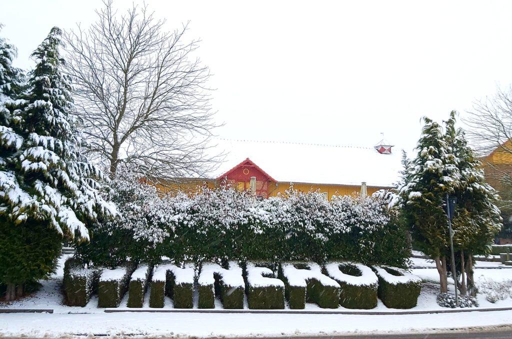 ☃ Wintereinbruch – die Anlage bleibt geschlossen☃
