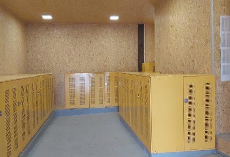 Renovierung Caddyhalle!